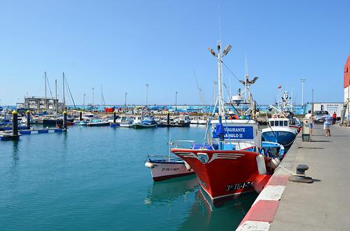 Los Cristianos harbour, Tenerife