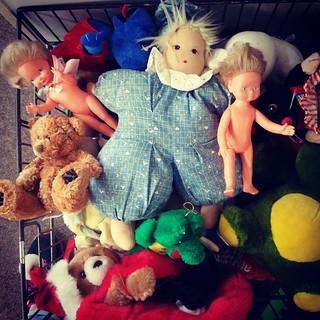 Unloved toys at Schrader