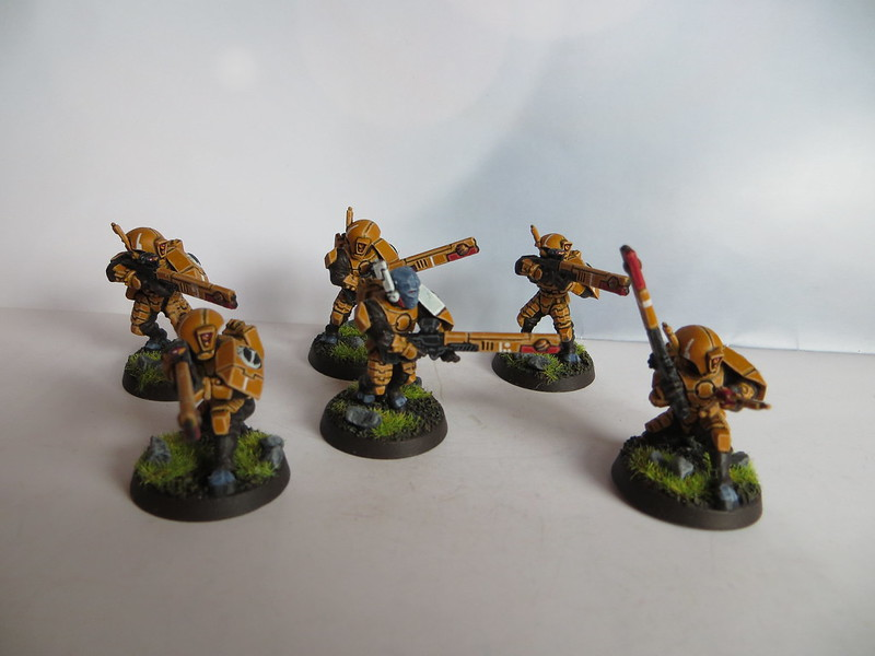 Tau Fire Warrior Team II