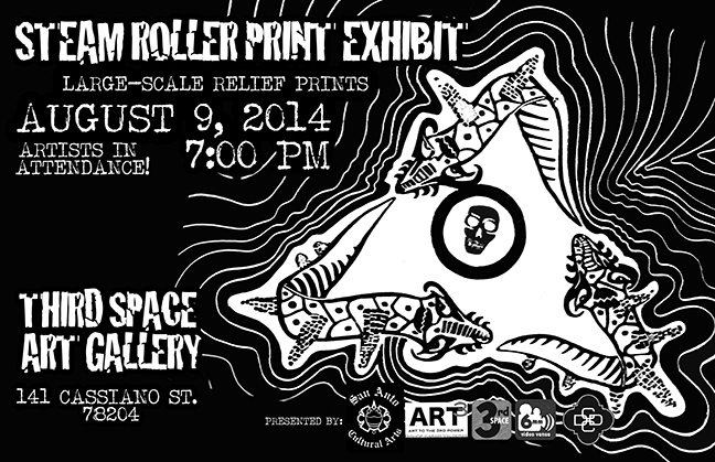Steam Roller Print Exhibit