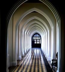 Corridor in Stanbrook Abbey #leshainesimages # dailyshoot