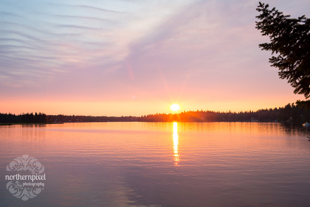 Ness Lake Sunset - Prince George BC