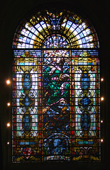 John Ireland memorial window by Brian Thomas