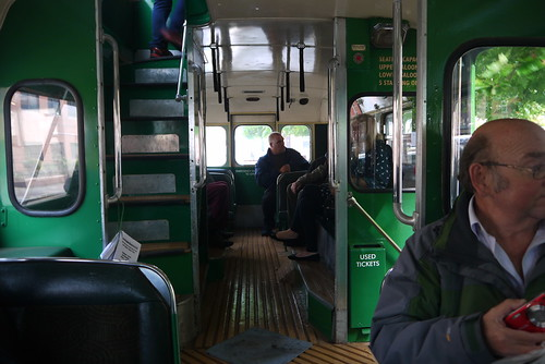 Downstairs on VTU 76 (from the front)