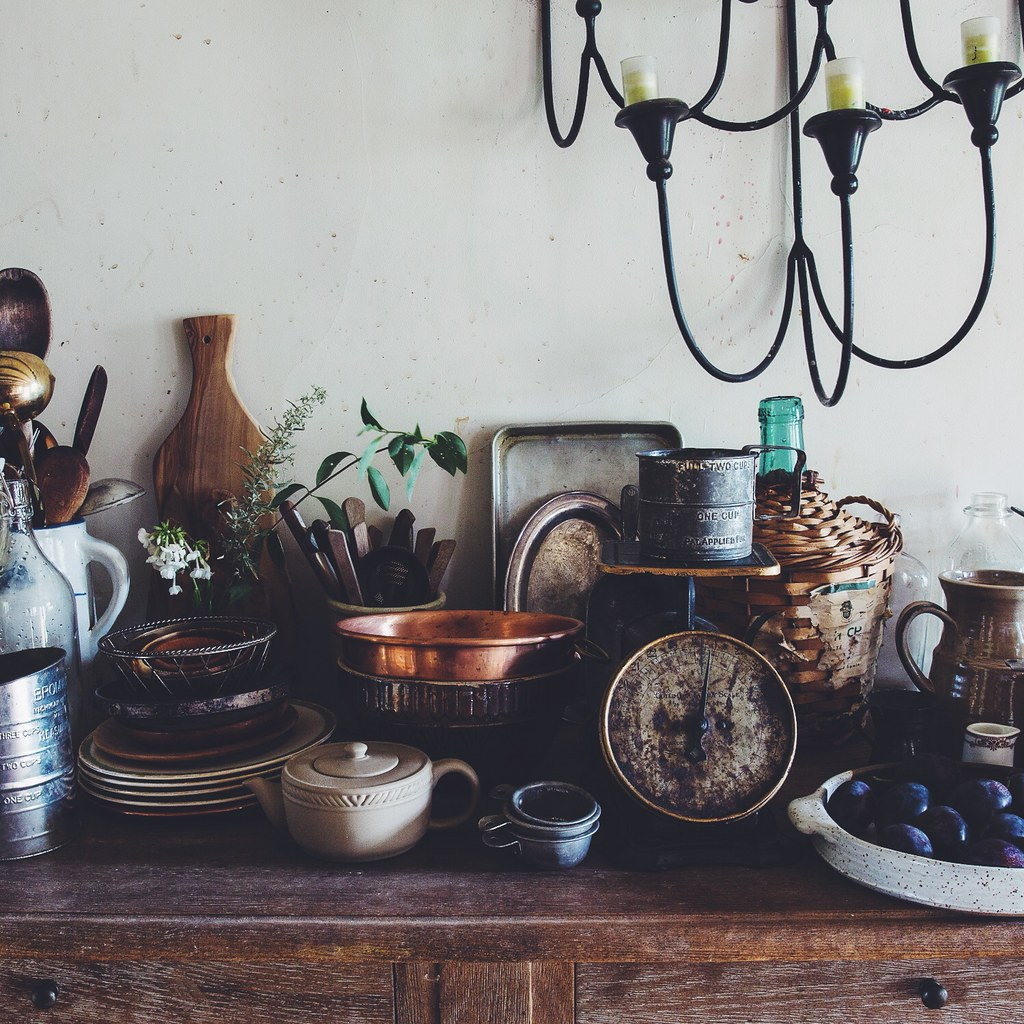 A Daily Gathering - Styling Props
