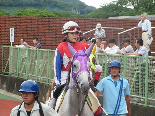 佐賀競馬場の岩永千明騎手