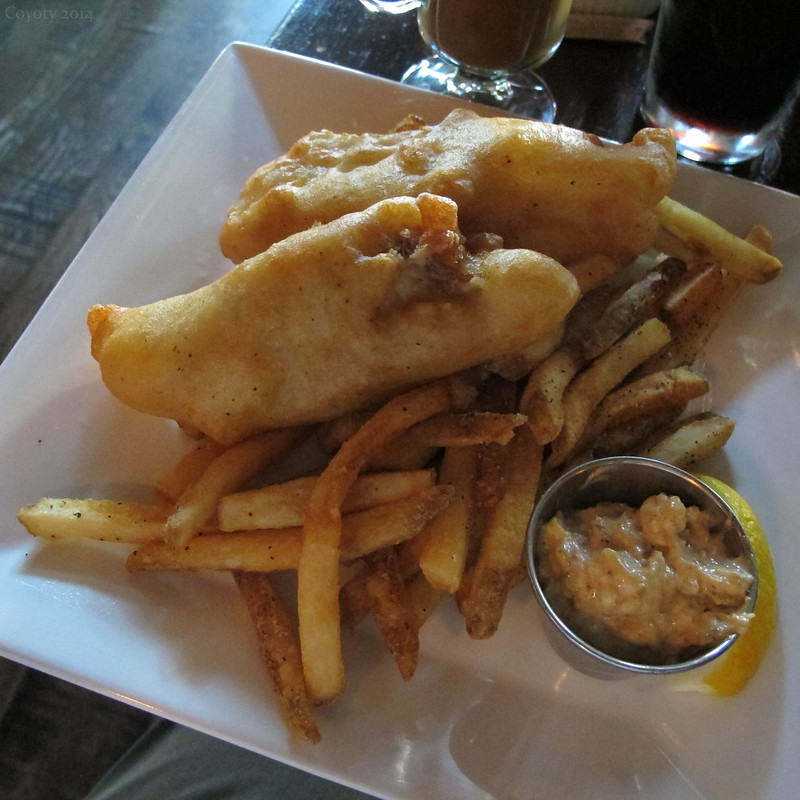 Cod & chips