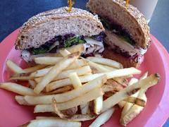Turkey Berry Sandwich, Jack's Urban Eats #food #sandwich #lunch