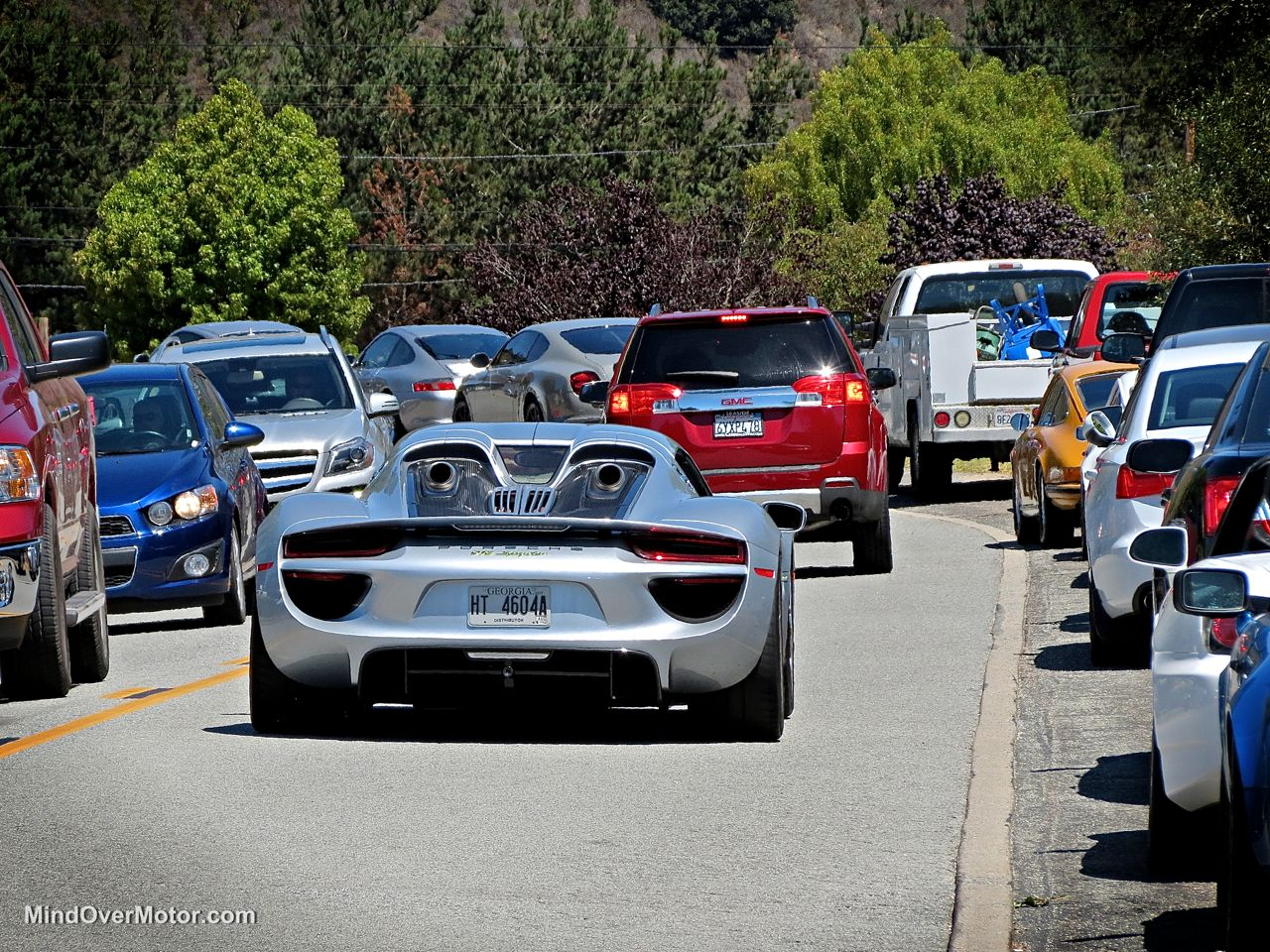 Porsche 918 Spyder in Carmel Valley