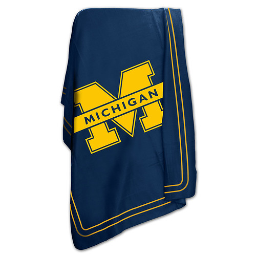 Michigan Wolverines NCAA Classic Fleece Throw