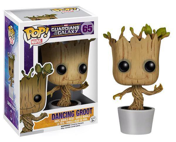 FUNKO POP! MARVEL 系列【星際異攻隊】跳舞格魯特 Dancing Groot