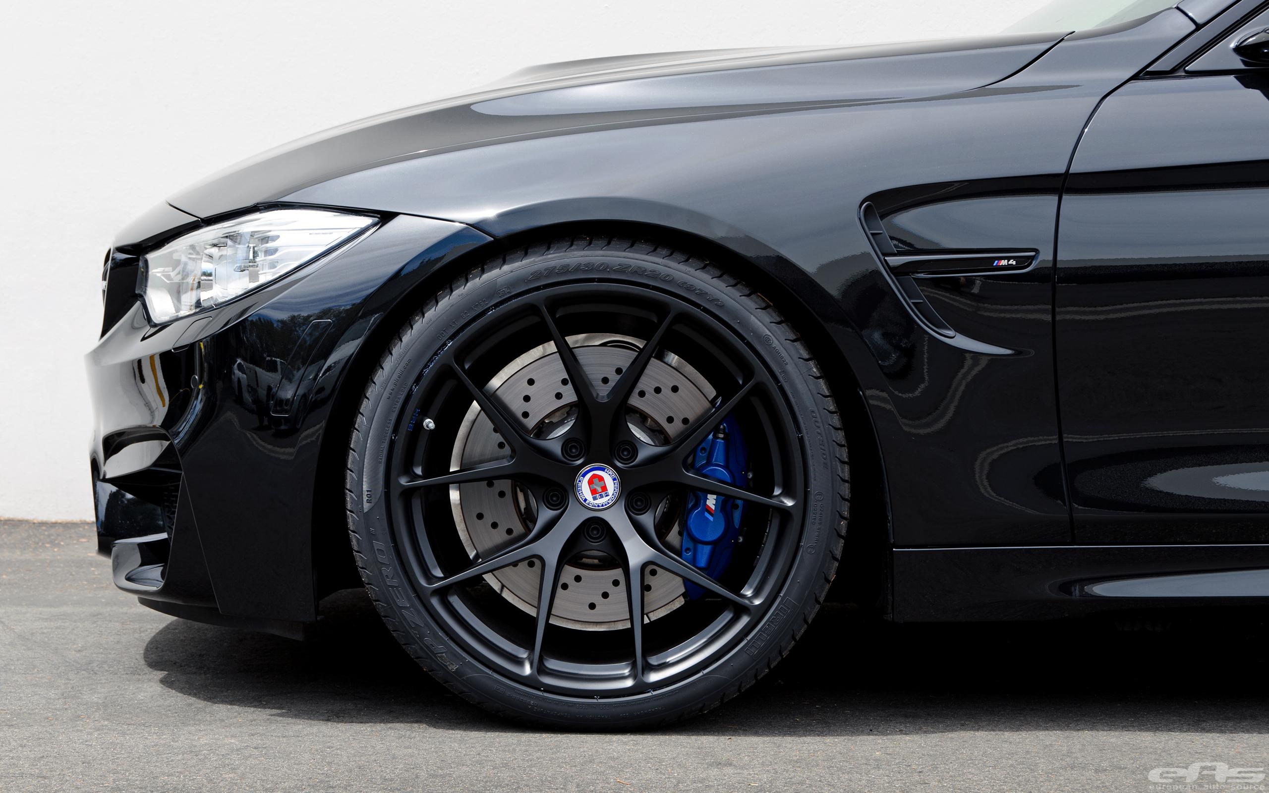 Matte Black Hre Wheels For A Black Sapphire M4 Bmw Performance Parts Amp Services