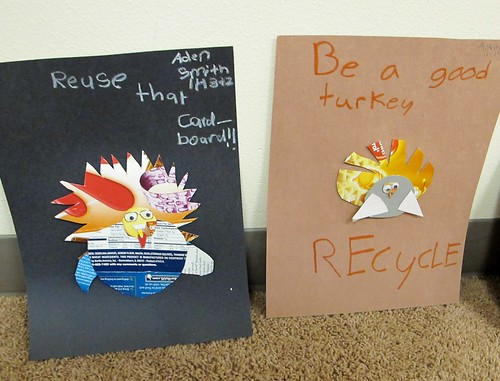 Recycled Turkeys
