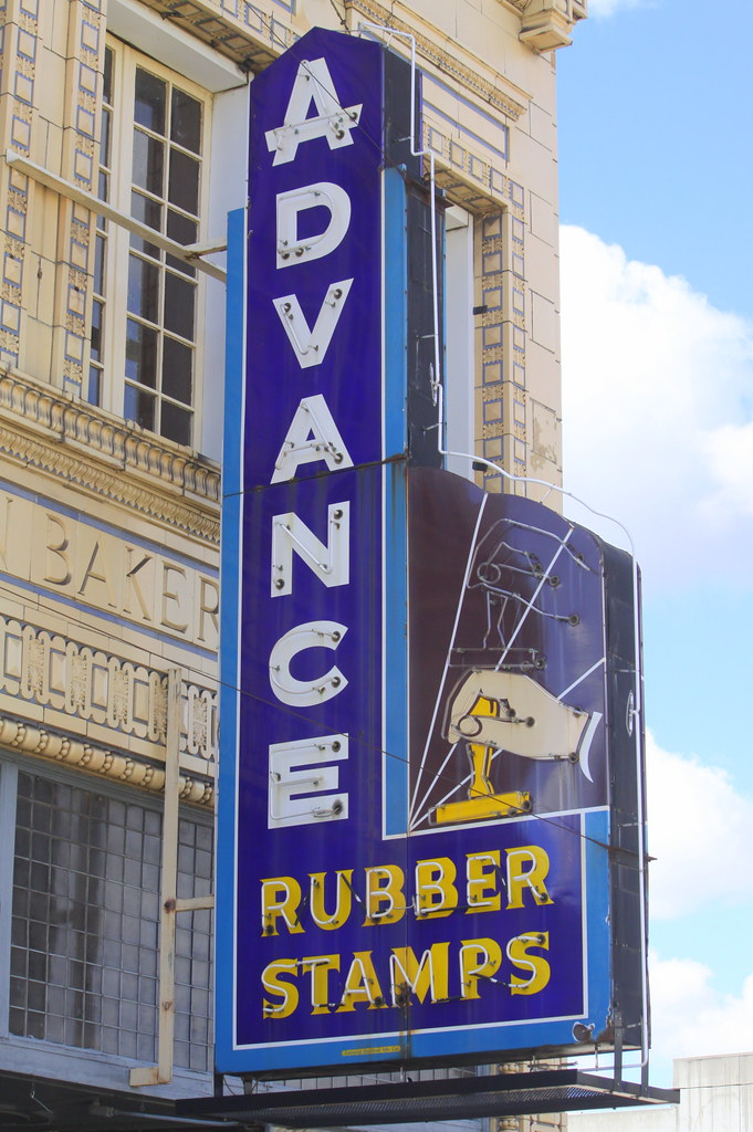 Advance Rubber Stamps - 339 Madison Avenue, Memphis, Tennessee U.S.A. - November 2, 2013