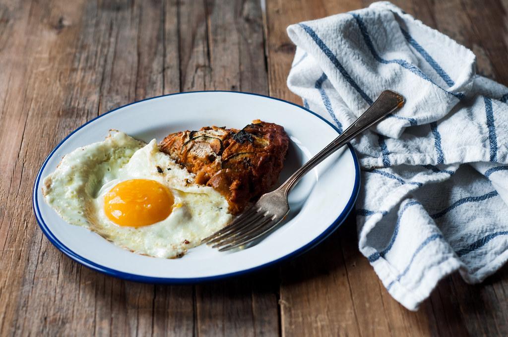 Ratatouille + Egg
