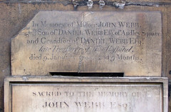 died 9th January 1798 aged 9 months