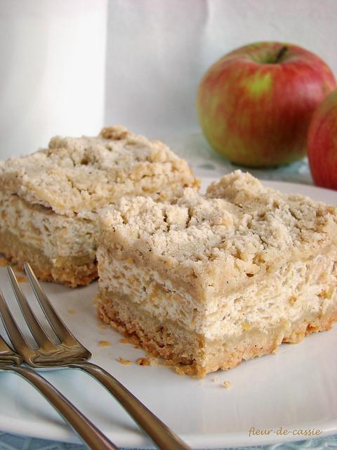 творожно-яблочный пирог 3