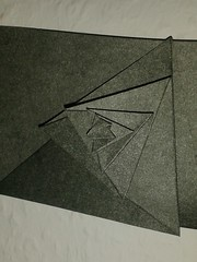 symmetry(0.0), wing(0.0), circle(0.0), art(1.0), art paper(1.0), origami(1.0), triangle(1.0), paper(1.0), origami paper(1.0),