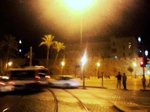 wall night roman jerusalem ramparts