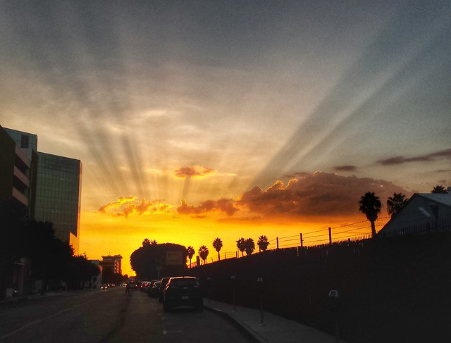 Sunset Rays (enhanced contrast)
