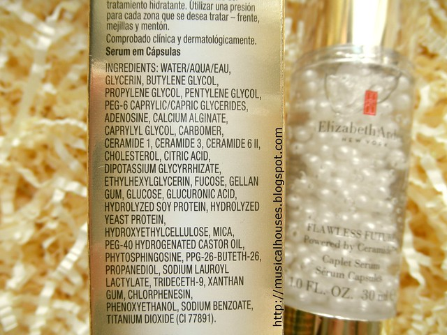 Elizabeth Arden Flawless Future Caplet Serum Ingredients