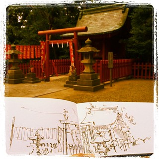 #kamakura #japon #urbansketch #carbon