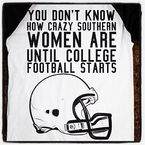 Southern women and football