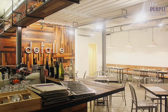Detalle Bar + Kitchen Ortigas
