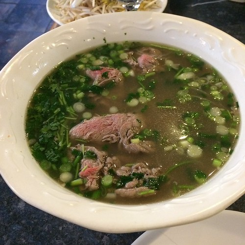 Pho at Maki Maki #yegfood