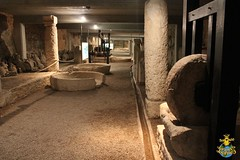 Pula: Beneath the floor of the Roman Arena