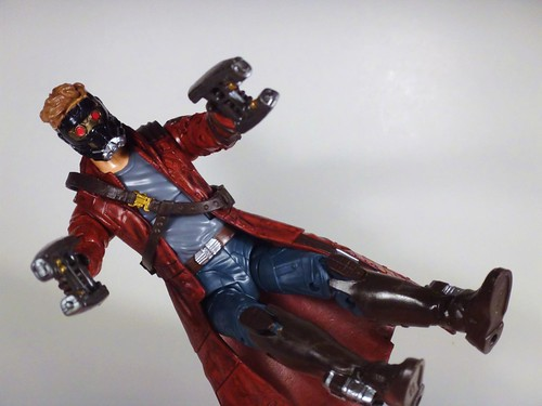 Star-Lord air blasting