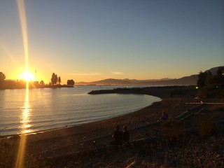 Image of Sunset Beach near West End.
