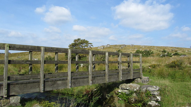 Bridge crossing the Blackbrook River