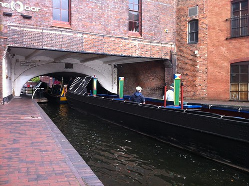 Scorpio and Leo heading under Broad Street | by Heritage Working Boats Group