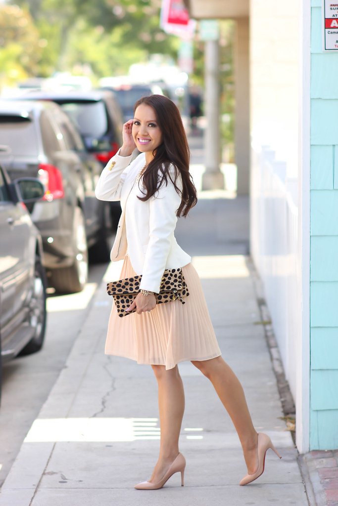 Forever 21 Lace Pleated Dress and Leopard-11