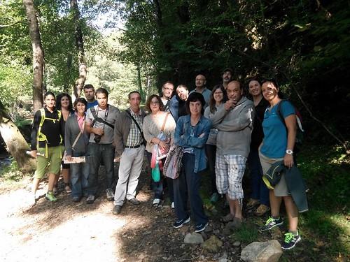Grupo de la visita