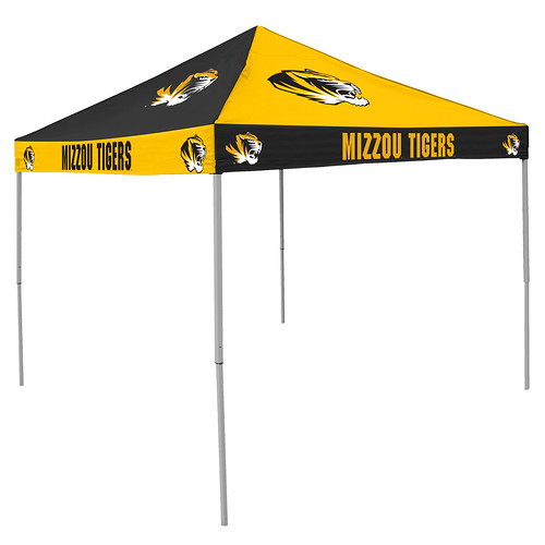 University of Missouri Mizzou Tigers Checkerboard Tailgating Tent