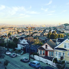 Amazing morning to wake up to. #bernalwood