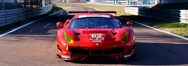 iRacing Ferrari 488 GTE Front