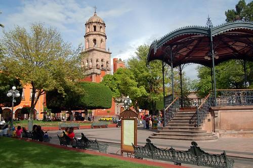 Quer taro mexique organisation des villes du patrimoine for Jardin zenea queretaro