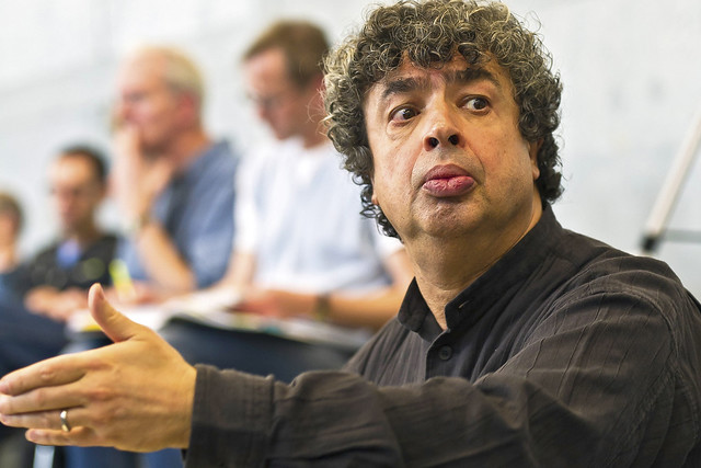 Semyon Bychkov in rehearsal for Tannhäuser, The Royal Opera © ROH/Clive Barda, 2010