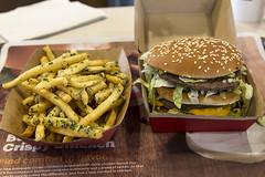 285/366  McDonalds Big Mac and Gilroy Garlic Fries