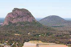 Mt Tibrogargan and Mt Beerburrum