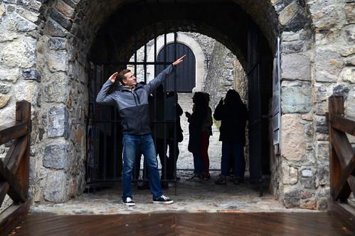 slovakia castle strecno gates