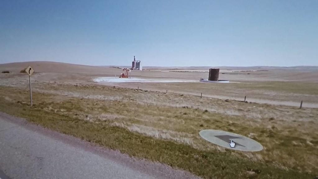 Prairie industries. #ridingthroughwalls #googlestreetview #xcanadabikeride