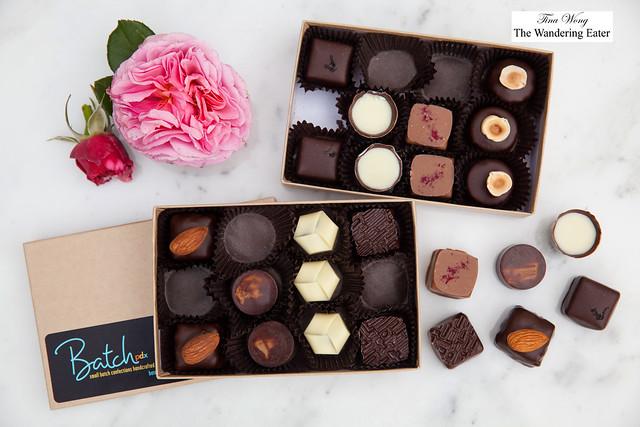 Chocolates from Batch