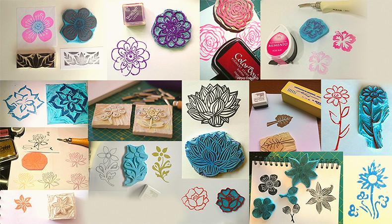 reto floral sellos 1
