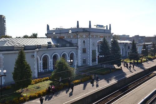 Рівненський залізничний вокзал