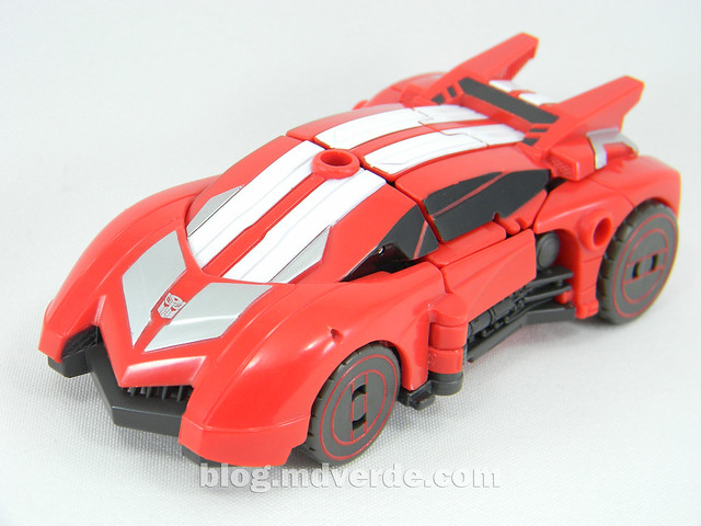 Transformers Sideswipe Deluxe - Generations Fall of Cybertron Edition - modo alterno