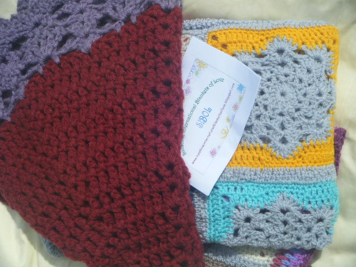 LizTelf. Thank you for the Shawl and Blanket.